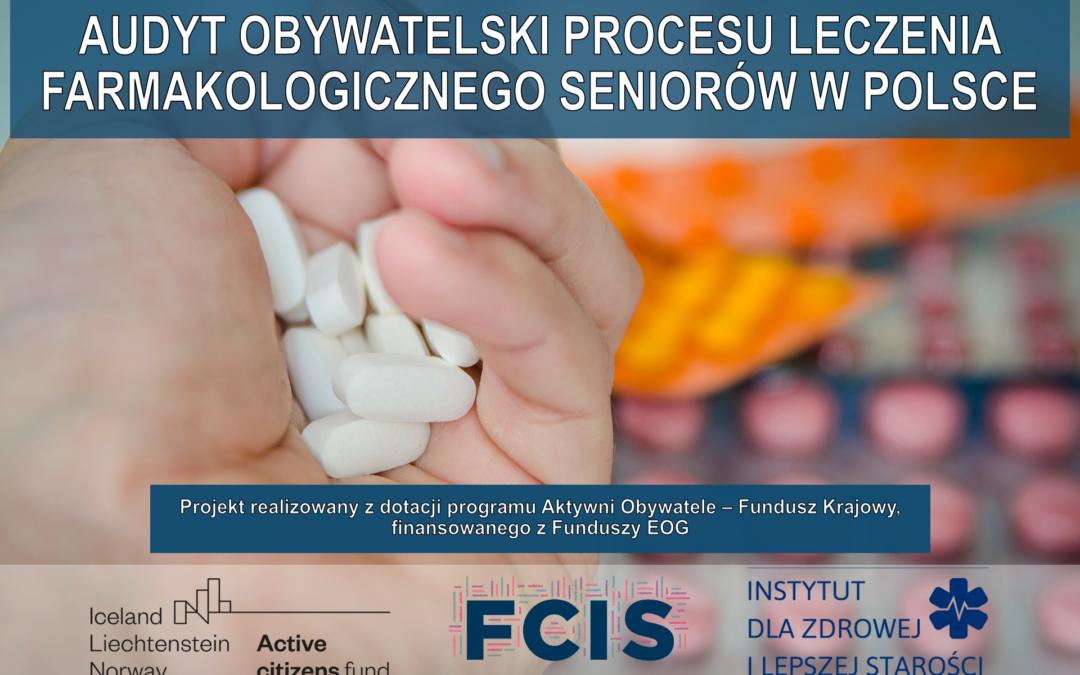 Audyt obywatelski procesu leczenia farmakologicznego seniorów w Polsce