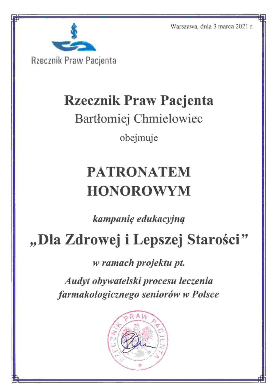 Rzecznika Praw Pacjenta logo